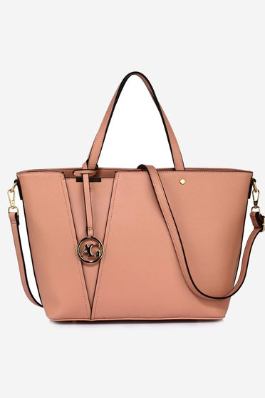 Rosa bag from ecological leather short handles office