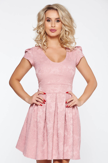 Rosa occasional cloche dress from jacquard