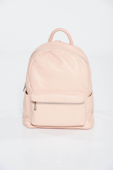 Rosa casual backpack natural leather