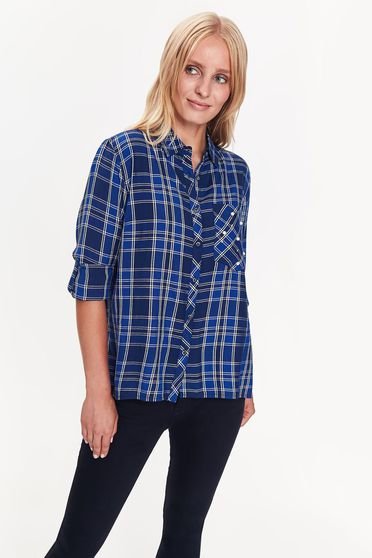 Top Secret S038807 Blue Shirt