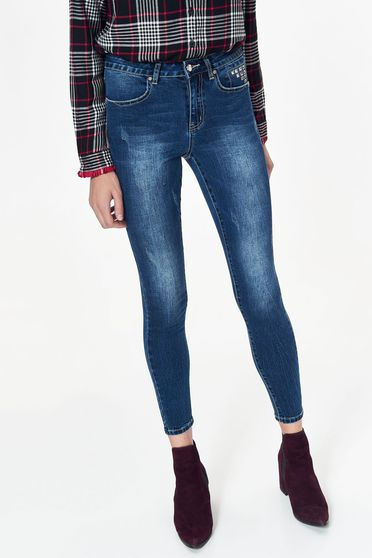 Top Secret S038828 Blue Trousers