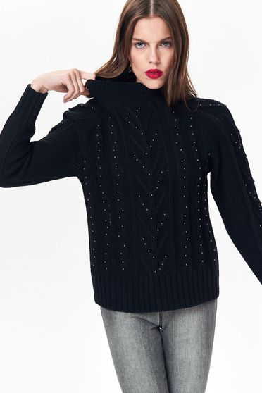 Top Secret S038831 Black Sweater
