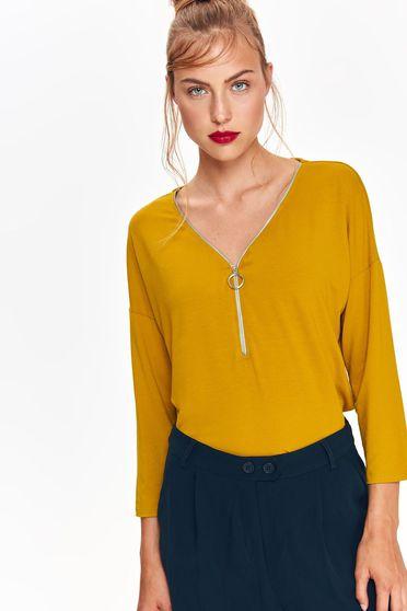 Top Secret S039176 Yellow Blouse