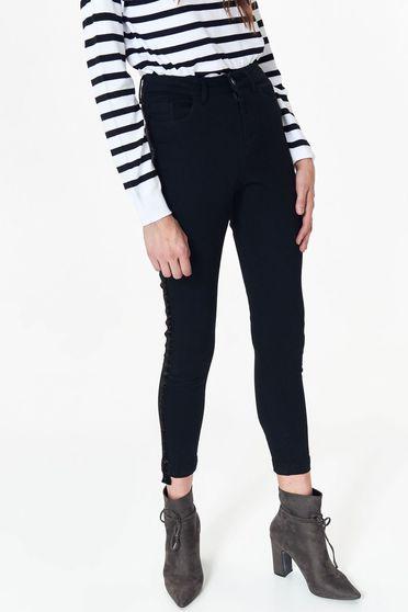 Top Secret S039191 Black Trousers