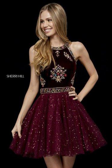 Sherri Hill 52263 Black Dress