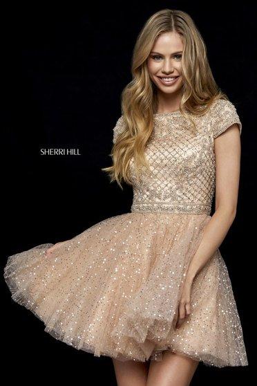Sherri Hill 52273 Black Dress