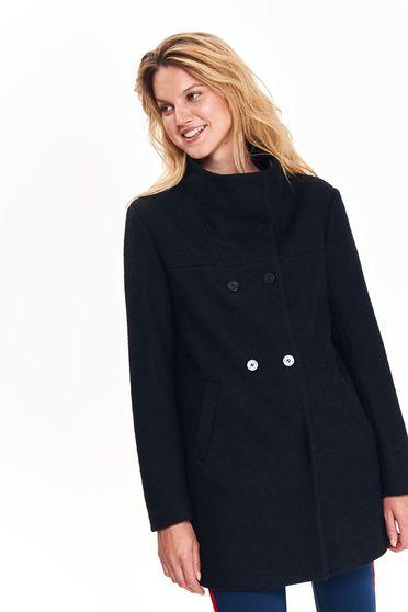 Top Secret S039488 Black Coat