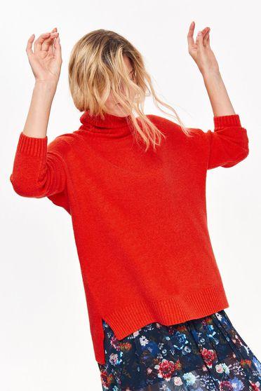Top Secret S039494 Orange Sweater
