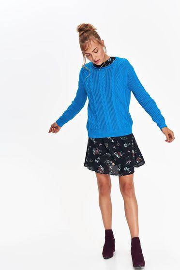 Top Secret S039555 Turquoise Sweater