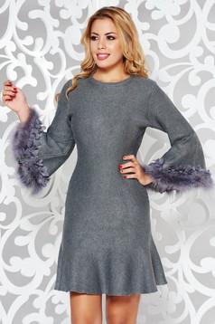 SunShine AW18-9276hu Grey Dress