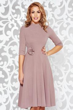 StarShinerS rosa elegant cloche dress shimmery metallic fabric knitted fabric