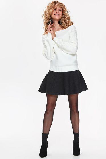 Top Secret S040320 White Sweater