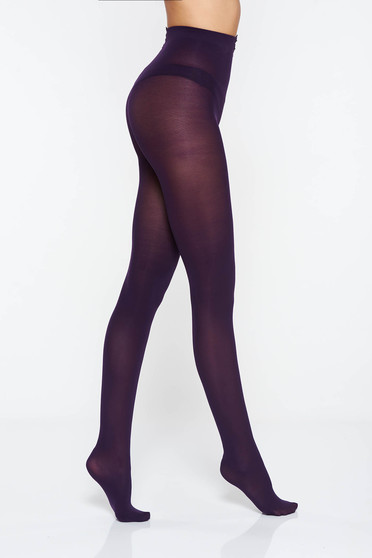 Purple women`s tights