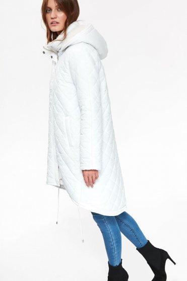Top Secret S040519 White Jacket