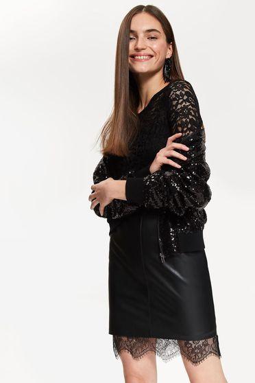 Top Secret S040983 Black Skirt