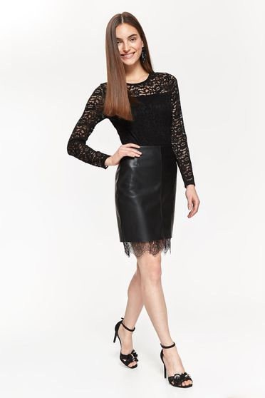 Top Secret S040983 Black Skirt
