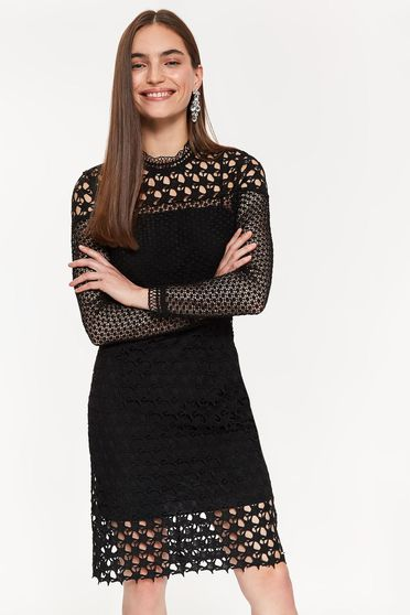 Top Secret S041013 Black Dress