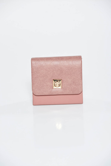Rosa occasional clutch bag from ecological leather
