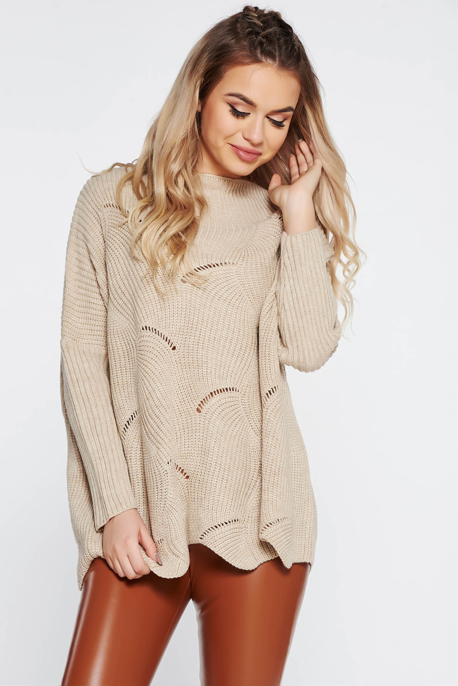 6bced57dd2d7 cream-casual-flared-sweater-knitted-fabric-with-cu-S041322-1-405186.jpg
