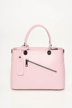 Rosa bag office natural leather medium grab handles