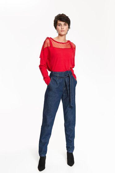 Top Secret S042398 Red Sweater