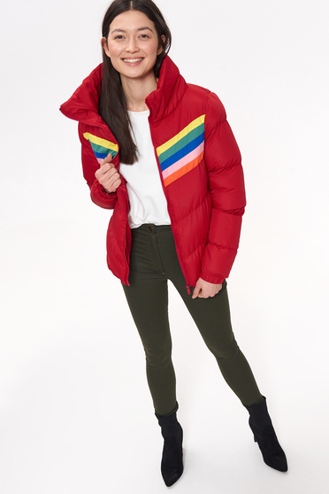 Top Secret S042425 Red Jacket