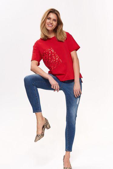 Top Secret S042438 Red T-Shirt