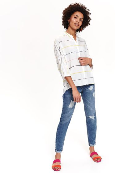 Top Secret S042475 White Shirt