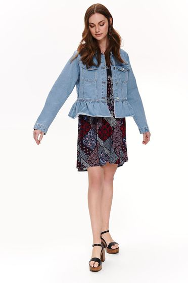 Top Secret S042484 Blue Jacket