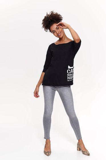 Top Secret S042519 Black T-Shirt