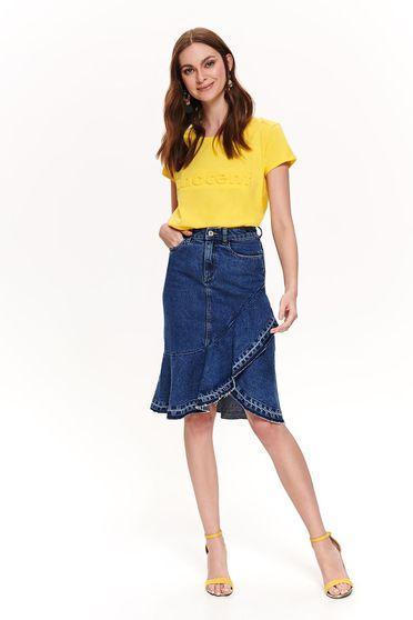 Top Secret S042527 Yellow T-Shirt