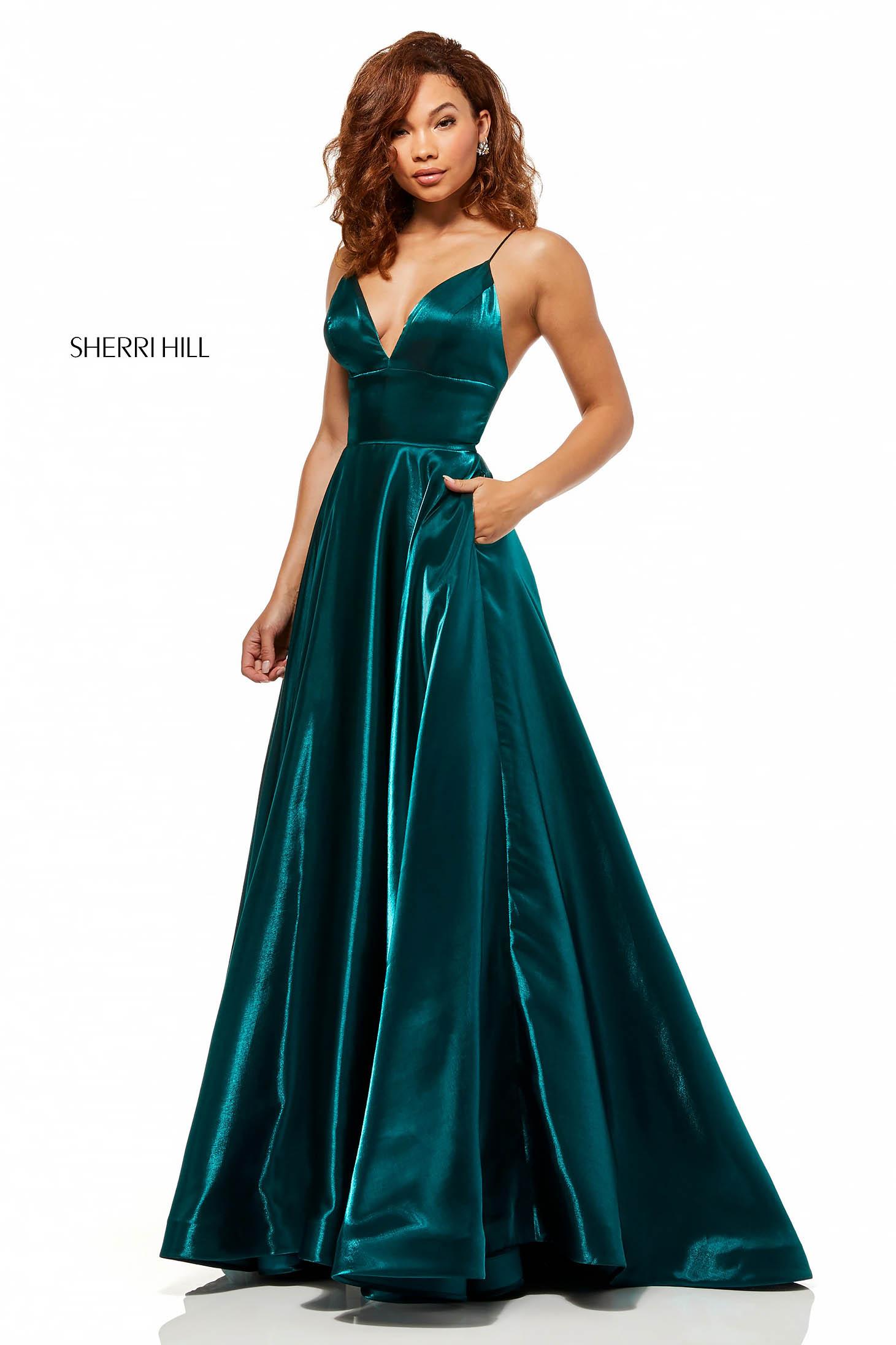 Rochie Sherri Hill 52424 Green