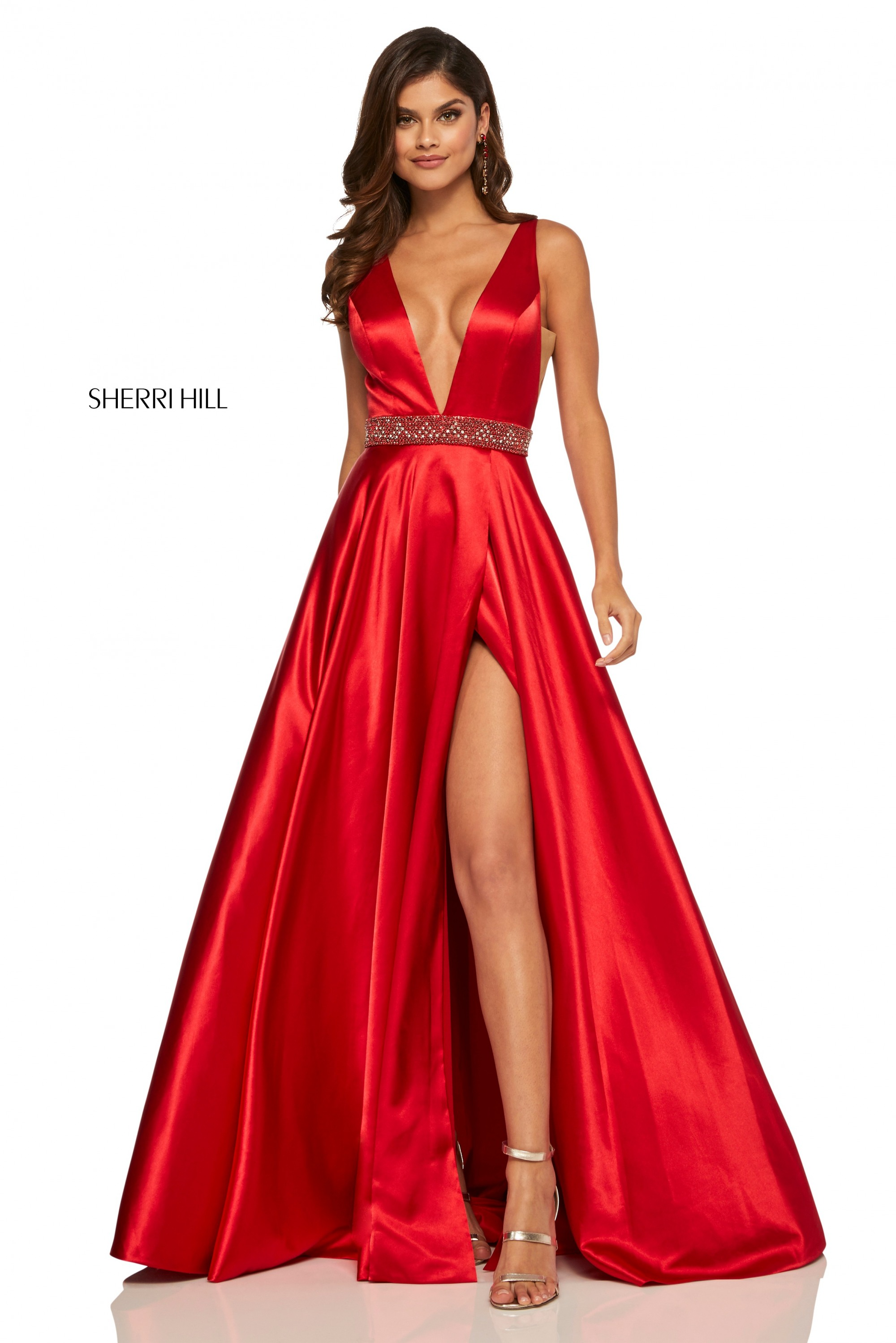 Sherri Hill 52564 Red Dress