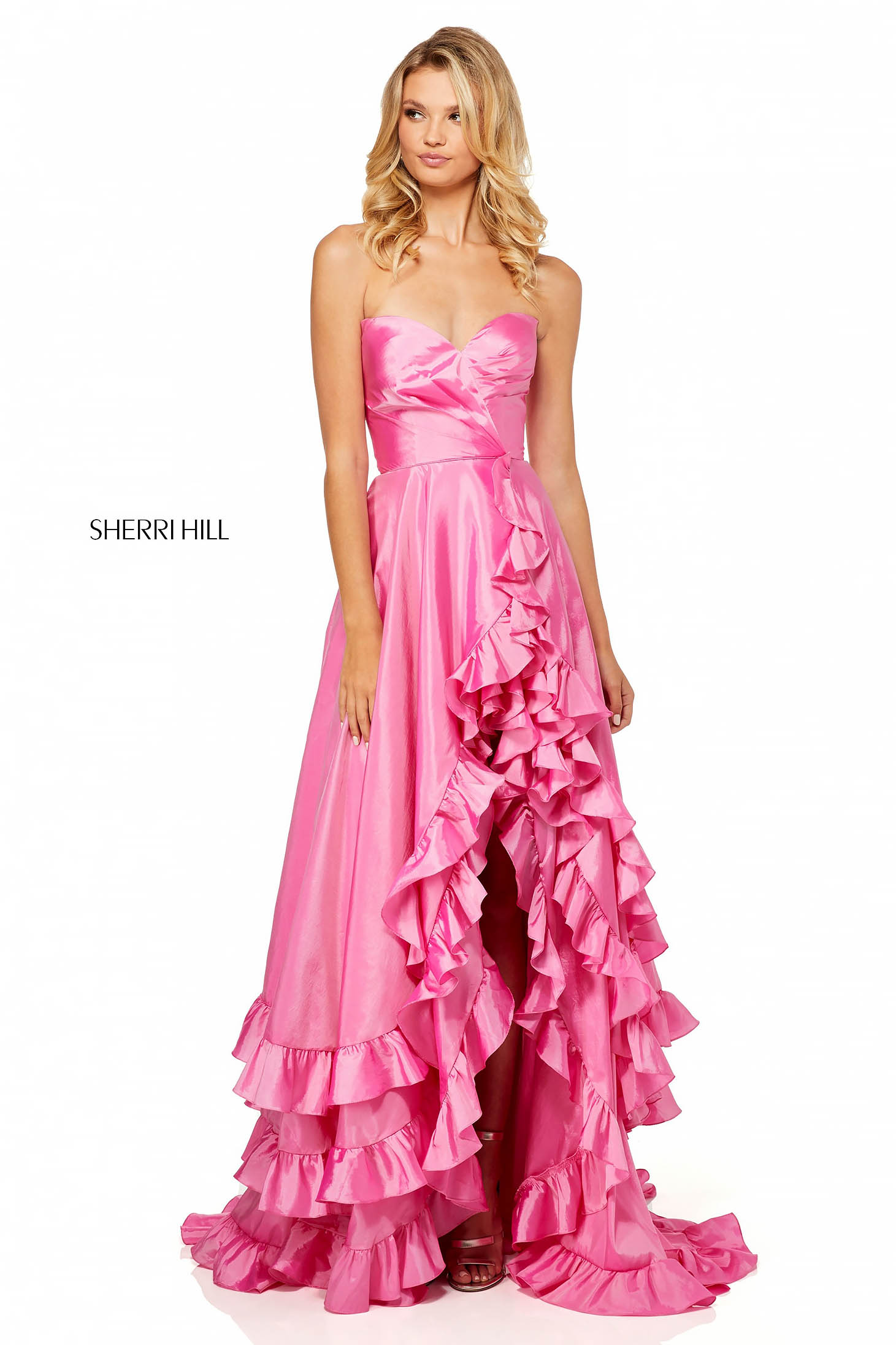 Rochie Sherri Hill 52605 Pink