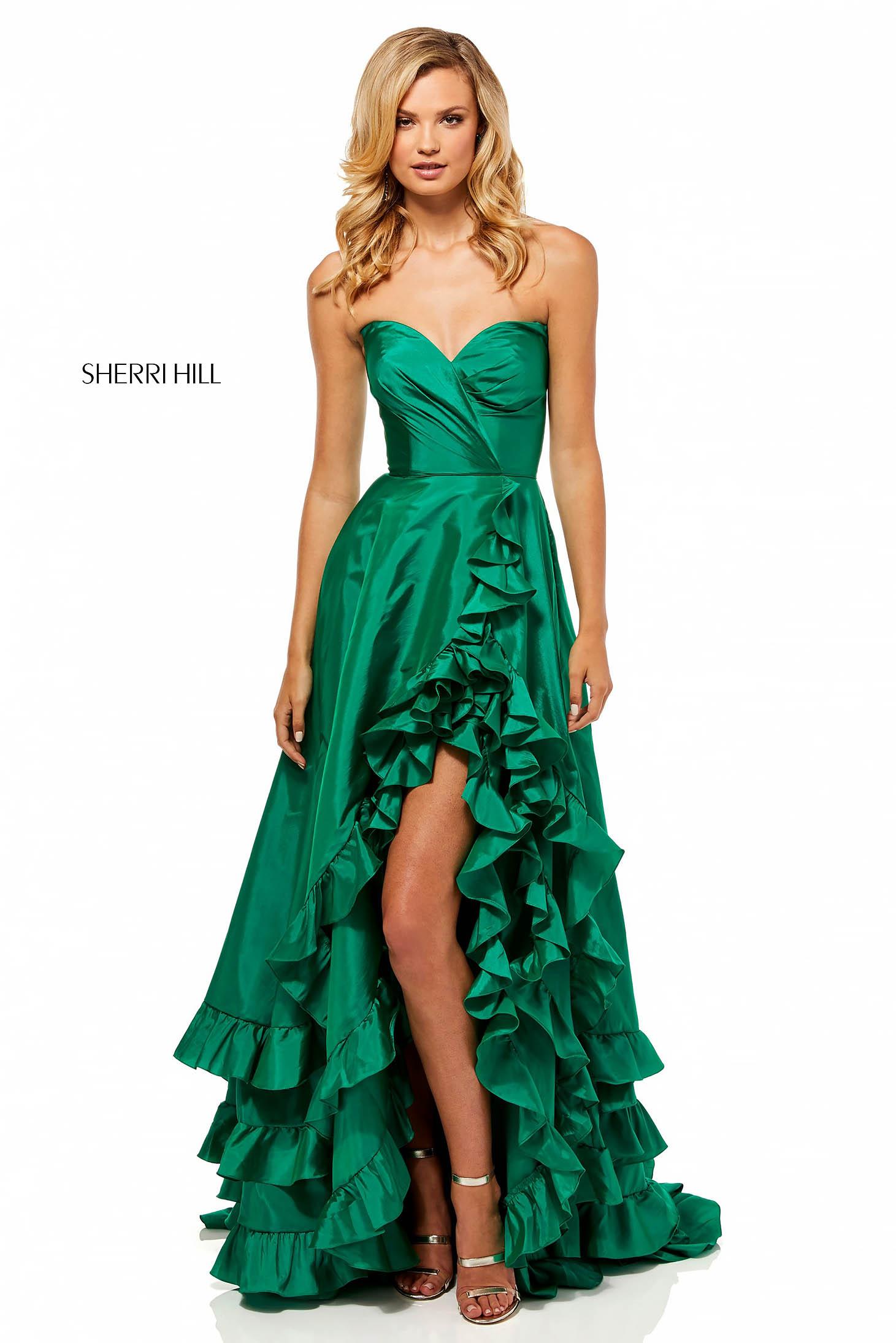 Rochie Sherri Hill 52605 Green