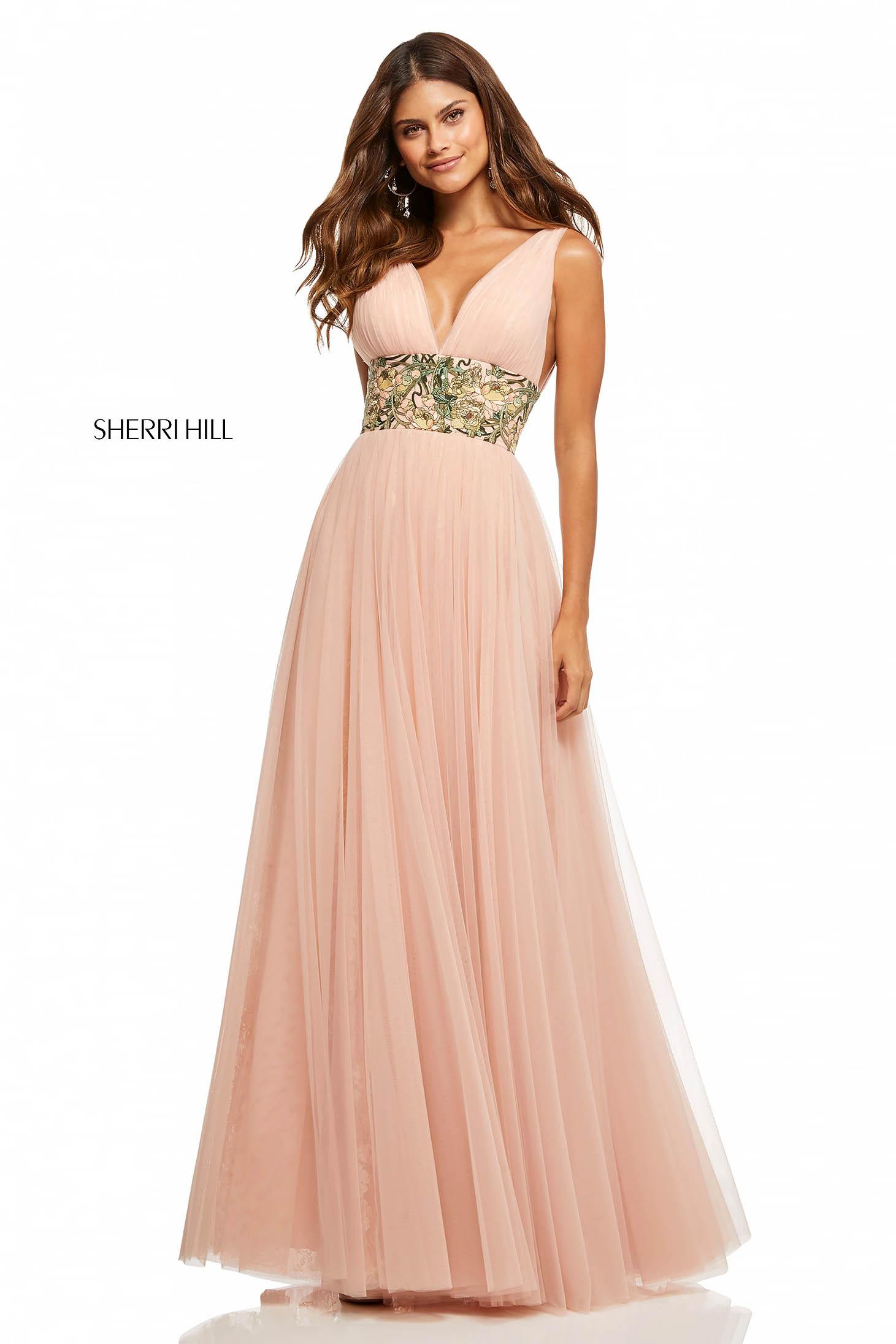 Sherri Hill 52670 LightPink Dress