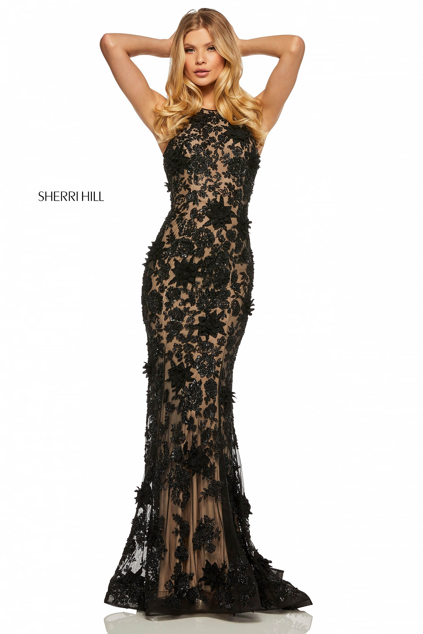 Rochie Sherri Hill 52778 Black