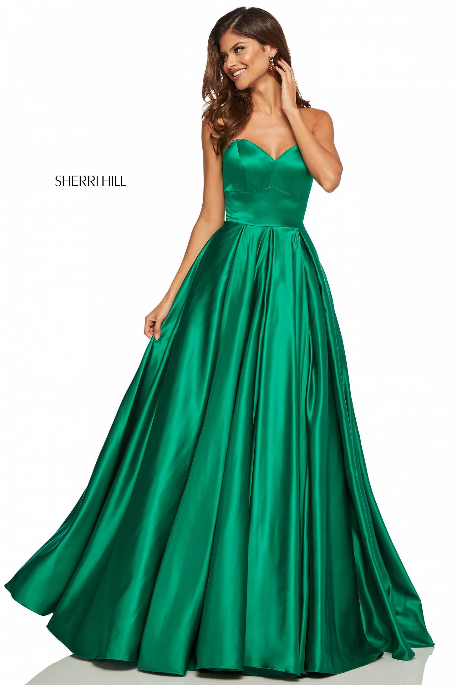 Rochie Sherri Hill 52850 Green
