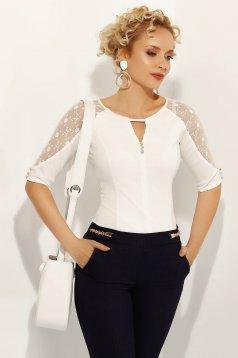 Fofy white women`s shirt