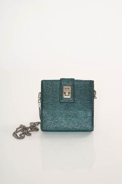Top Secret green bag clubbing long chain handle