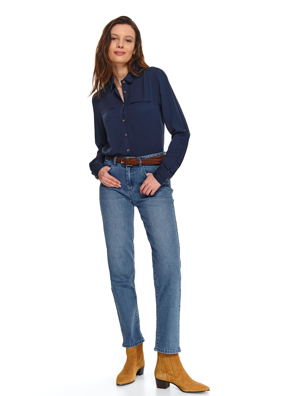 Camasa Top Secret S048015 DarkBlue