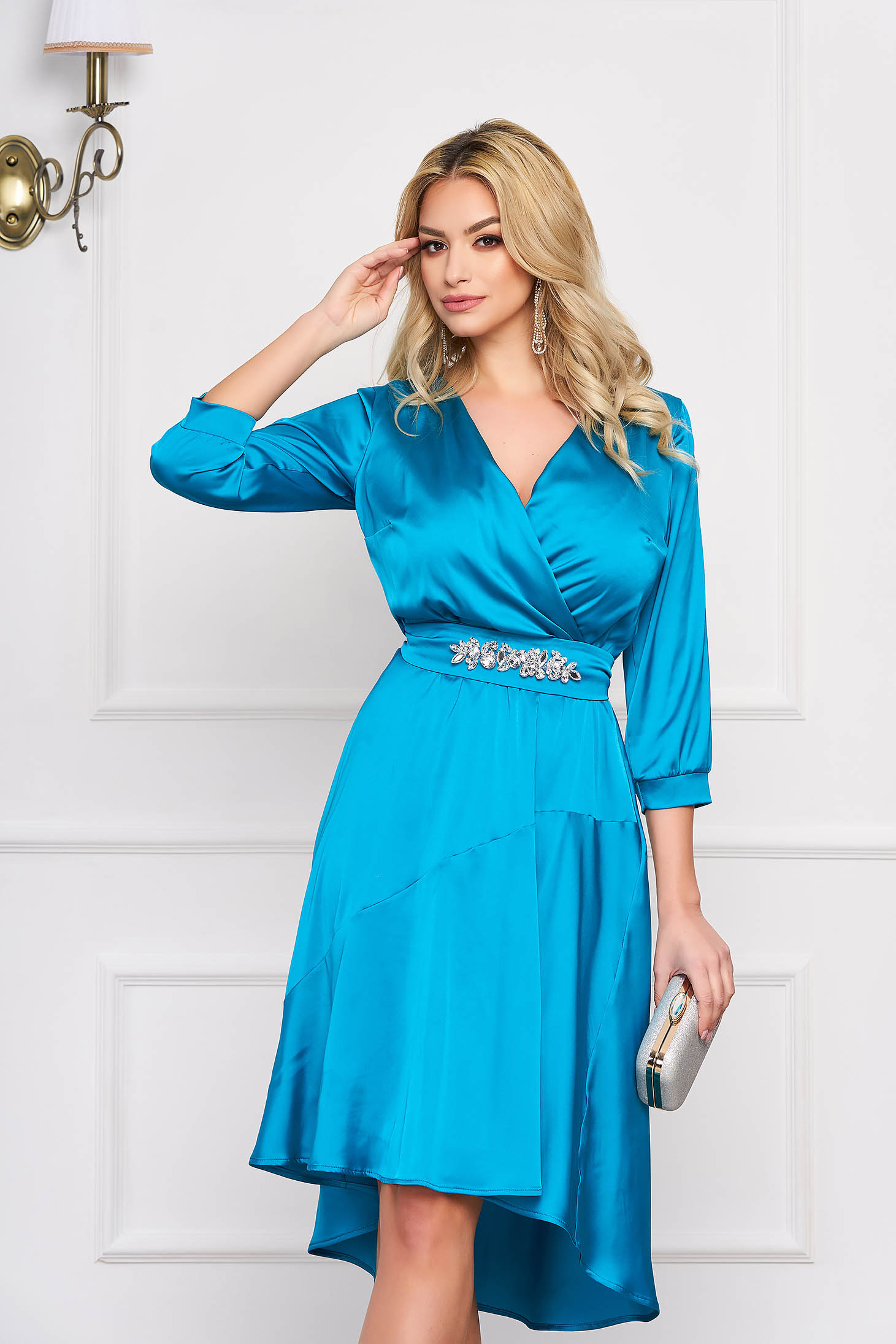 Dress turquoise StarShinerS