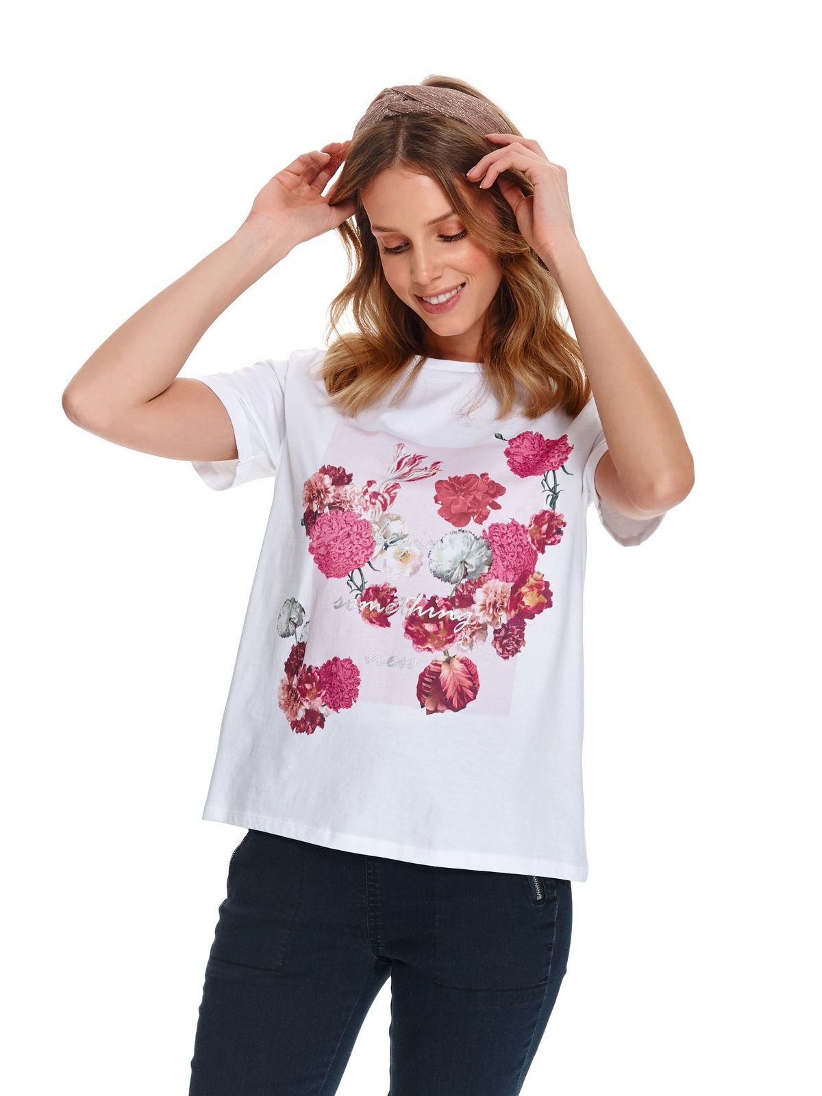 Tricou Top Secret alb