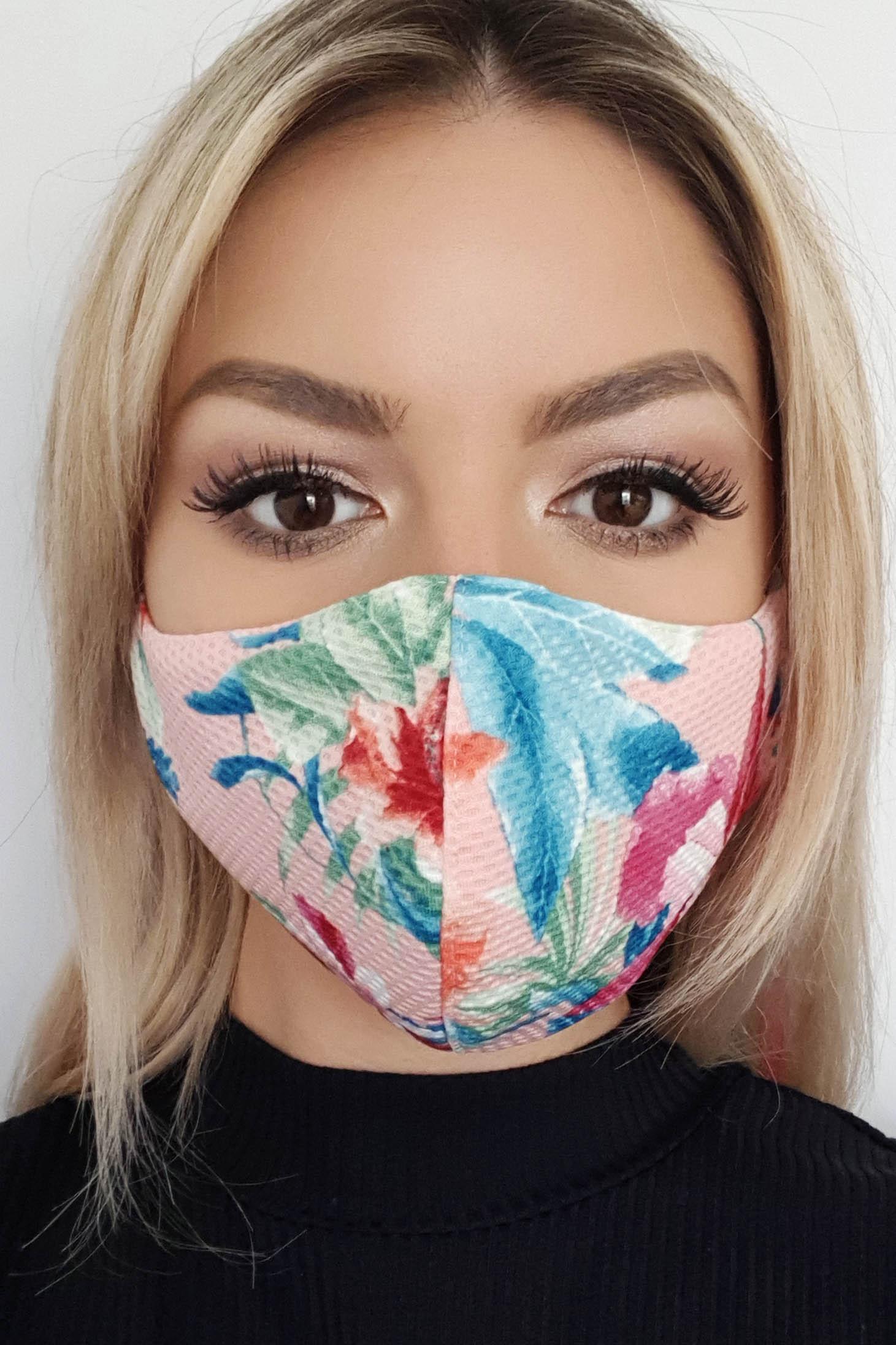 Masca textila StarShinerS roz