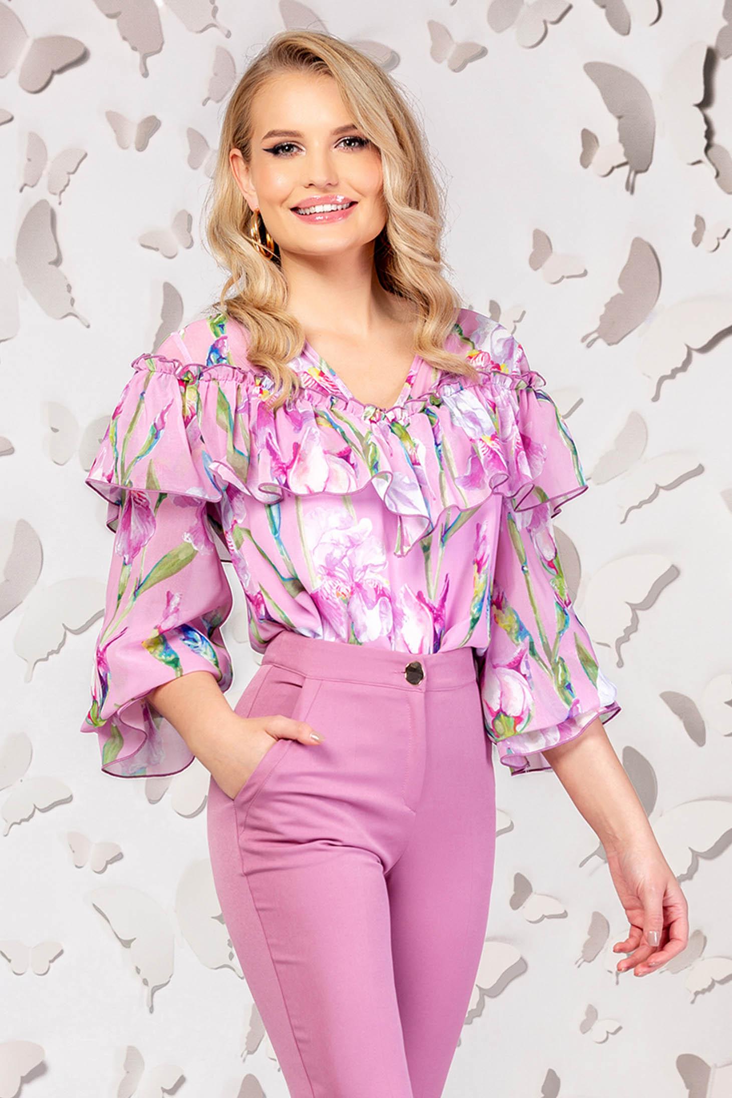 Bluza dama PrettyGirl roz