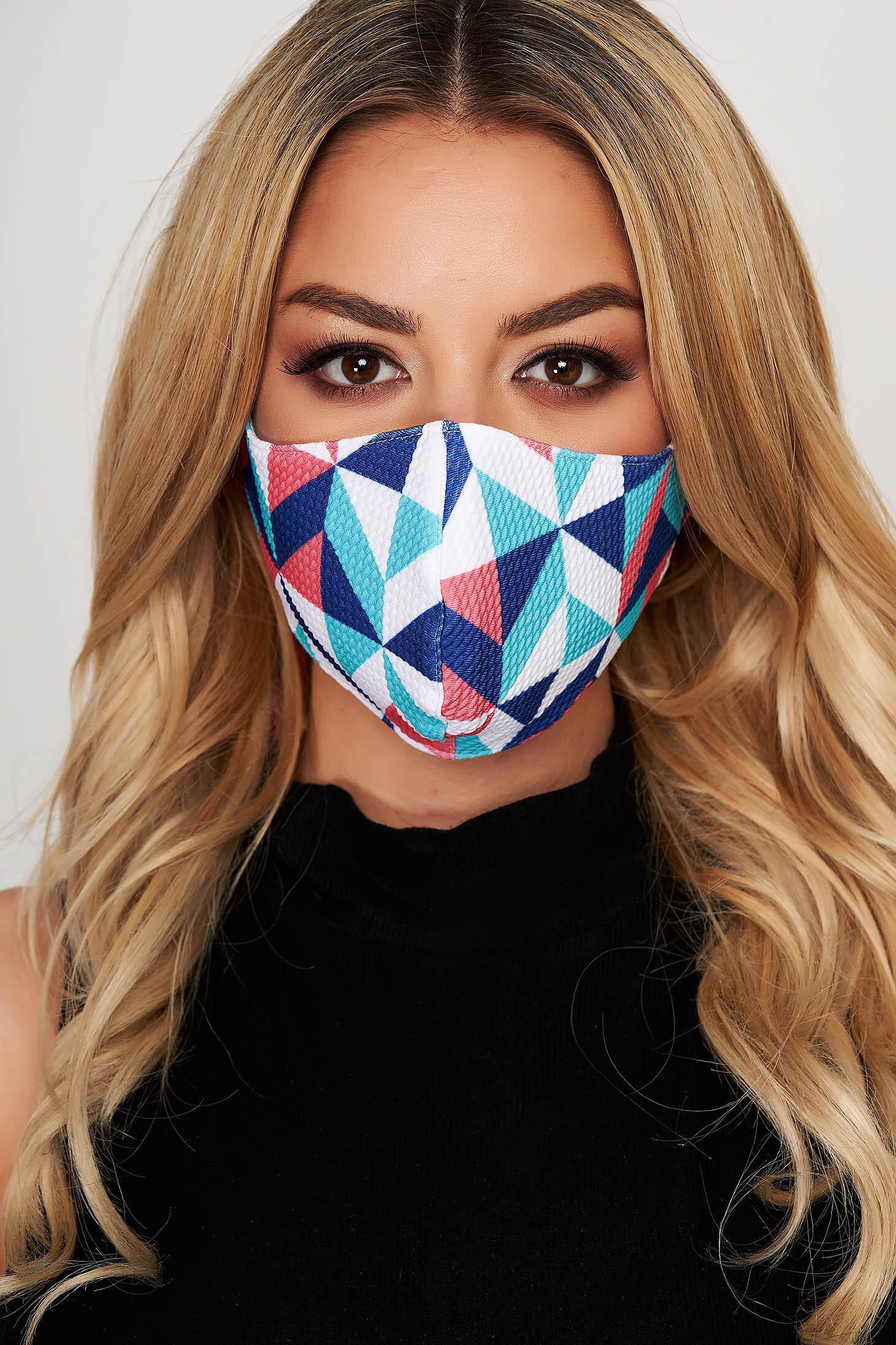 Masca de protectie StarShinerS albastra din material textil