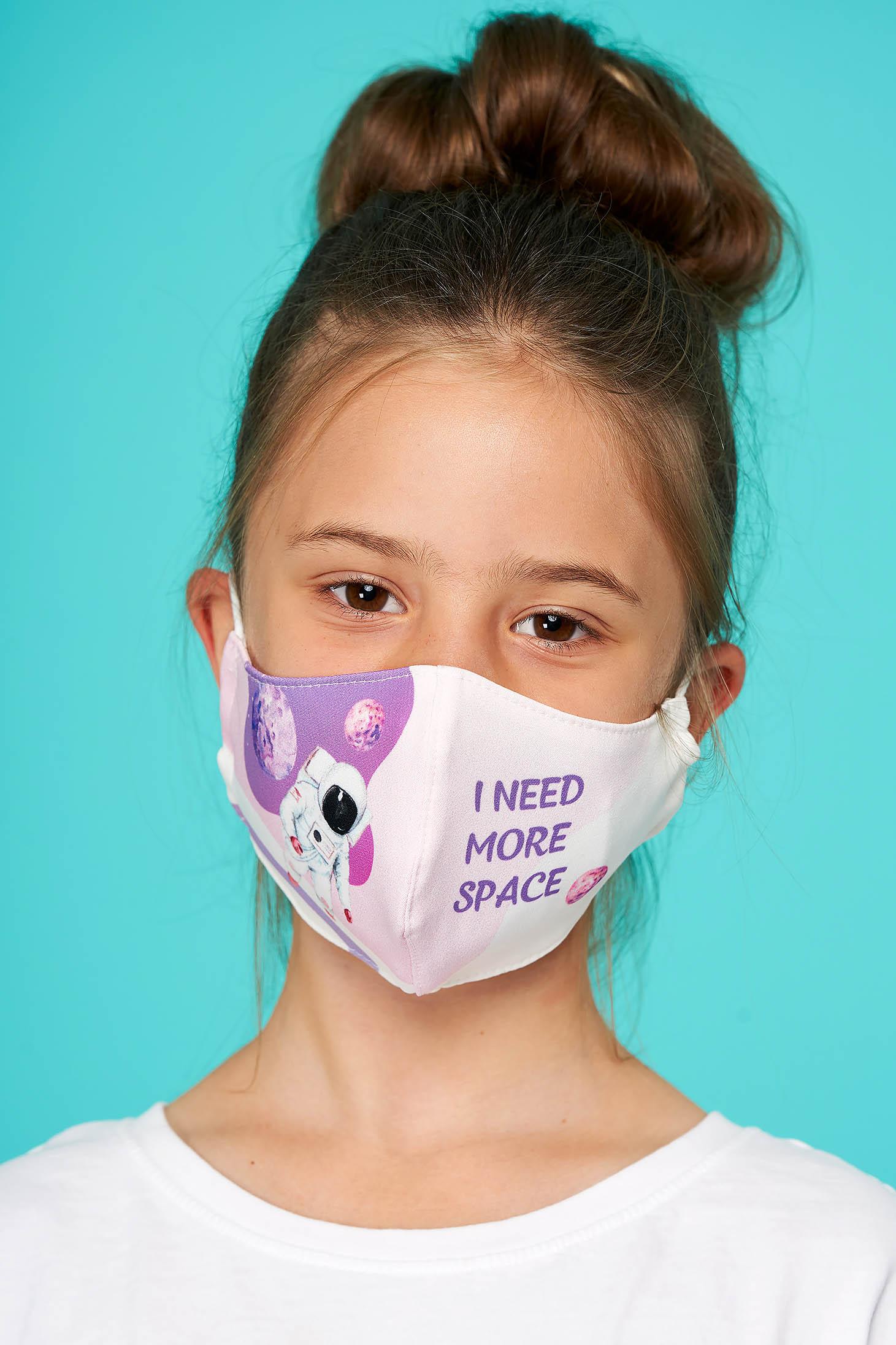 Masca textila pentru copii StarShinerS lila