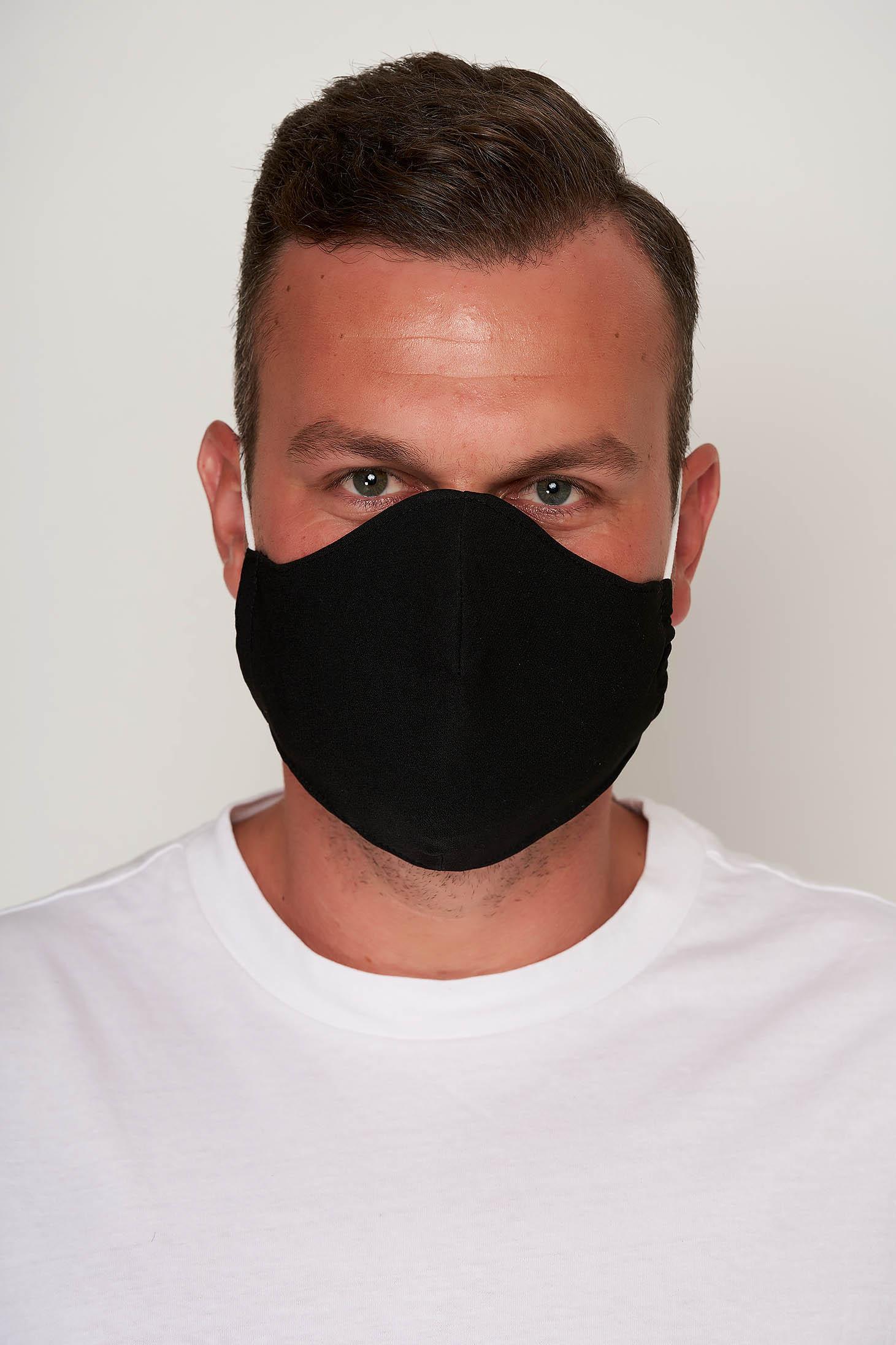 Masca textila pentru barbati StarShinerS neagra