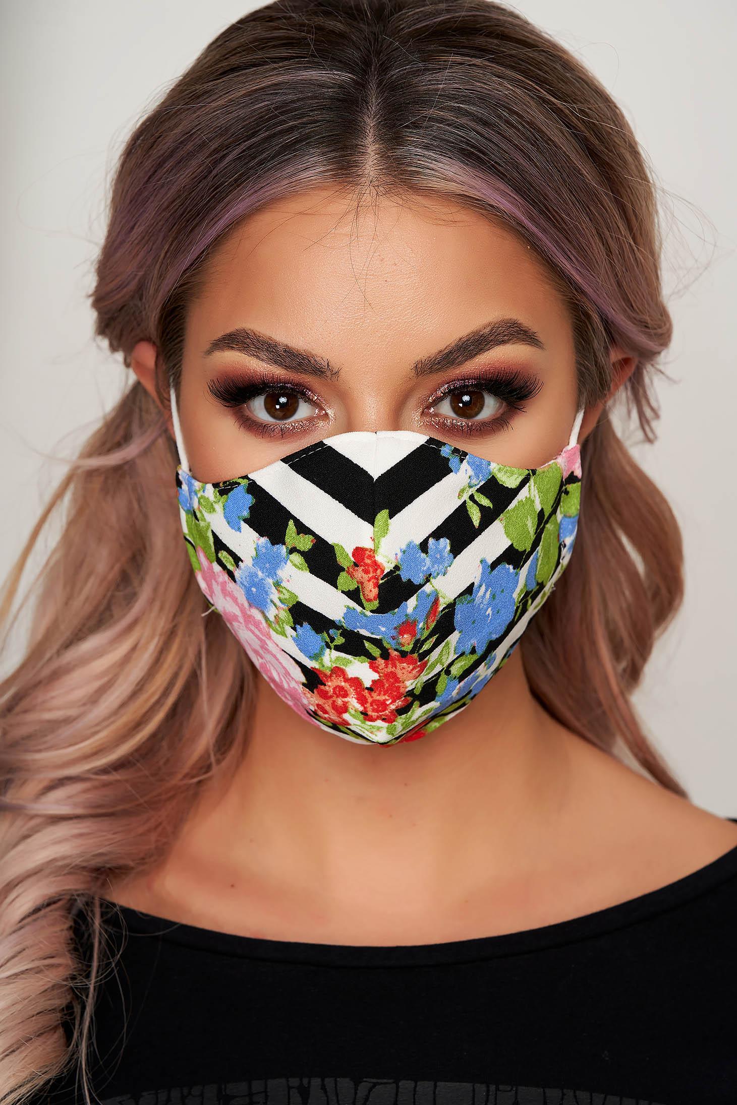 Masca textila pentru femei StarShinerS verde