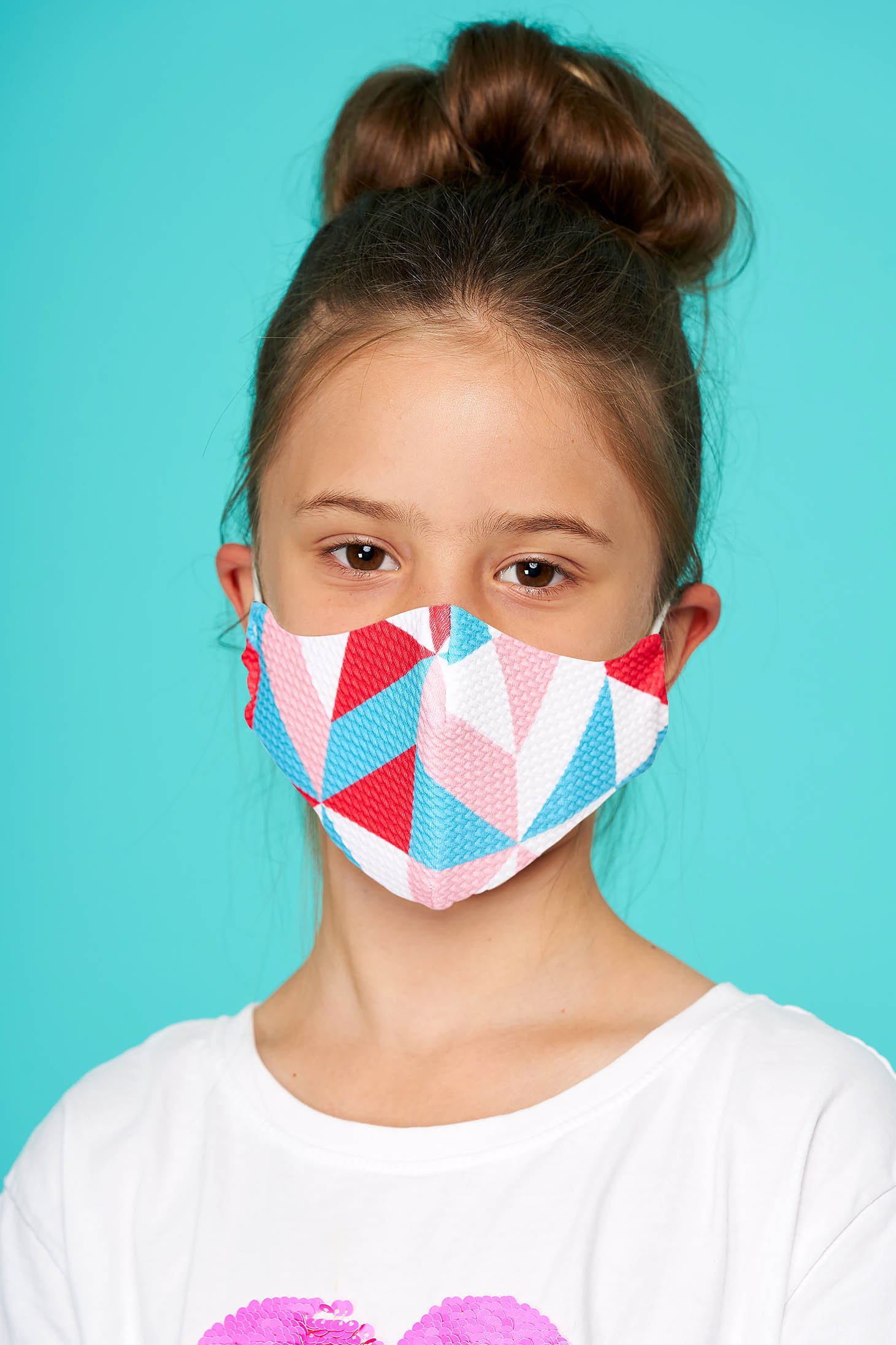 Masca textila pentru copii StarShinerS multicolora